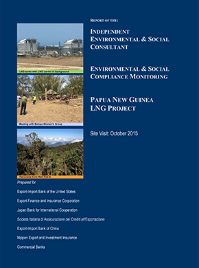 Independent Environmental and Social Consultant Reports