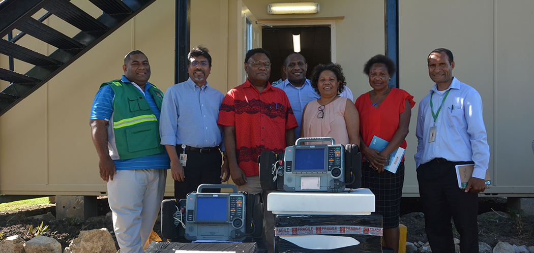 ExxonMobil PNG aids National Department of Health's National COVID-19 Preparedness Taskforce