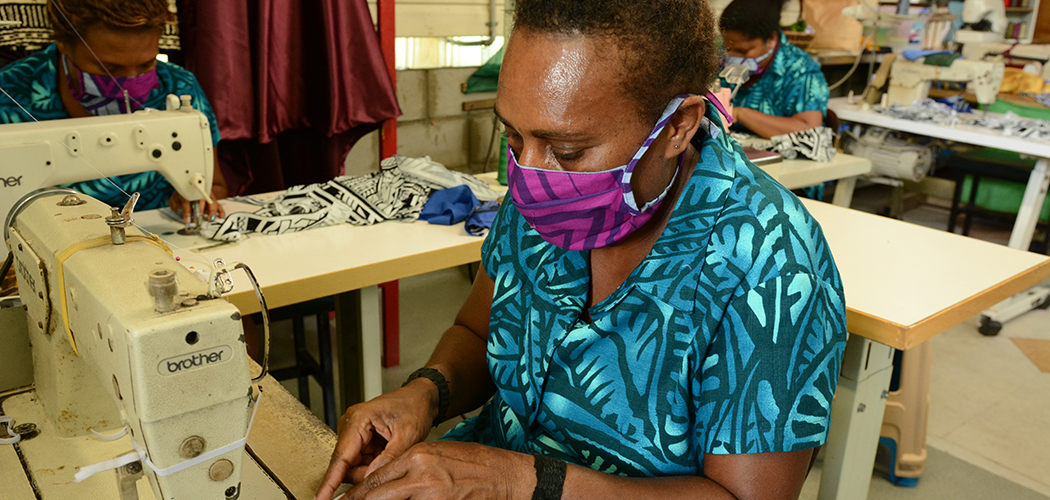 ExxonMobil PNG engages local MSMEs to manufacture 10,000 face coverings