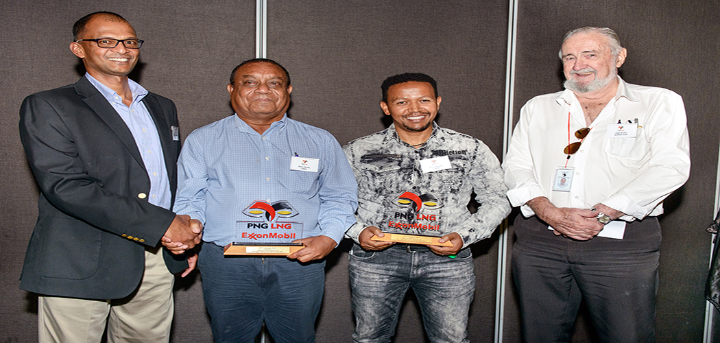 ExxonMobil PNG honours Laba Security Services & Baker Hughes for Outstanding Safety Performance