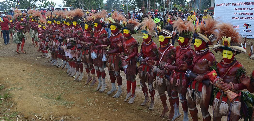 ExxonMobil PNG supports Komo LLG's Independence Celebrations