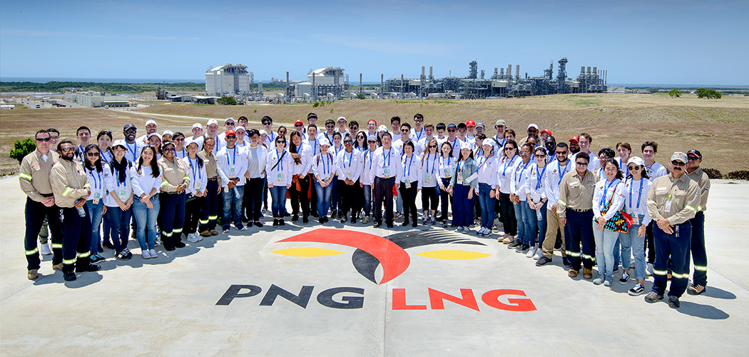 APEC Voices of the Future representatives visit PNG LNG Plant