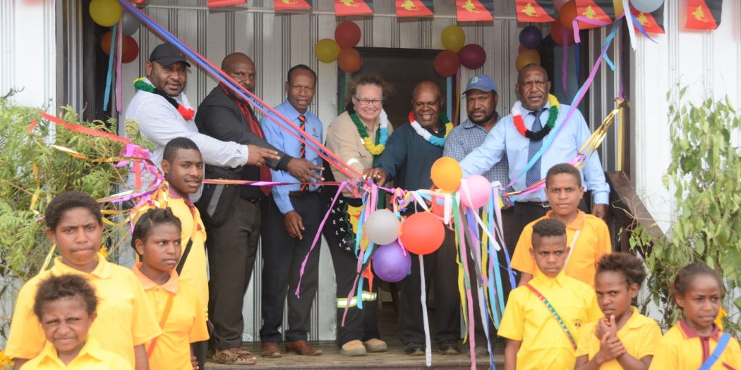 ExxonMobil PNG hands over classrooms & staff houses to Para Primary School